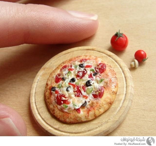 أطباق طعام مصغرة  8