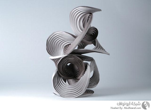 أجمل الأعمال الورقية من معرض أوريغامي الدولي 8