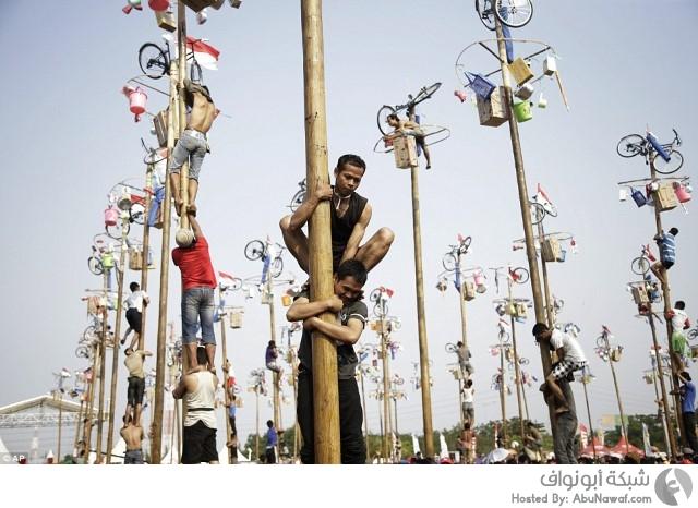 إندونيسيا تحتفل بذكرى استقلالها بأسلوب غريب 11