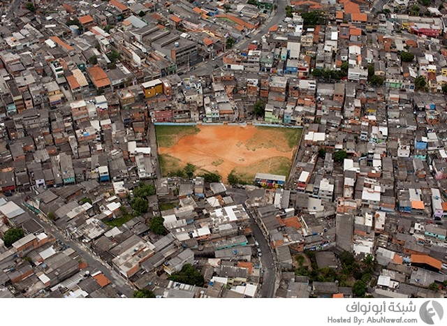 صور جوية لملاعب كرة القدم في ساوباولو