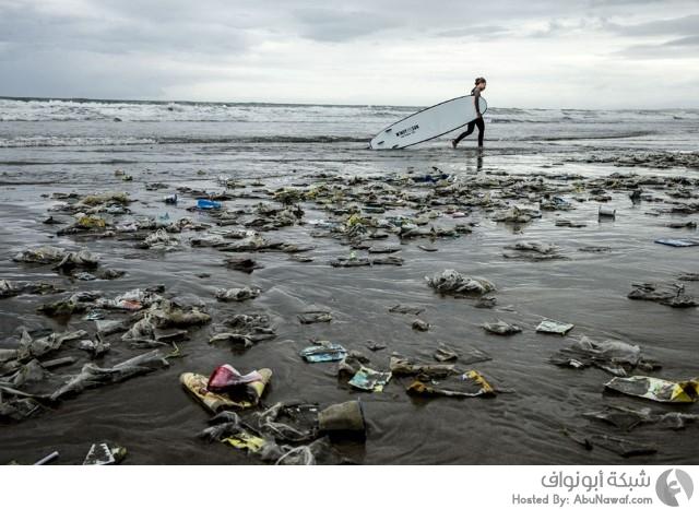 نفايات الشواطئ
