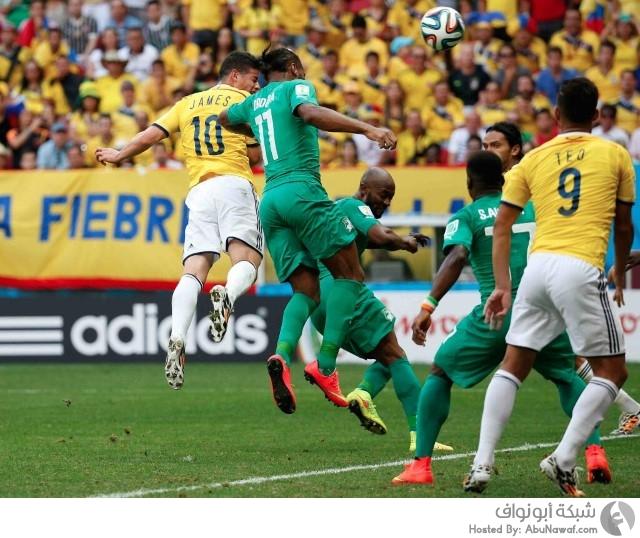 كولمبيا و ساحل العاج