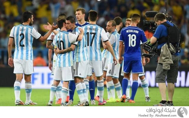 الأرجنتين و إيران