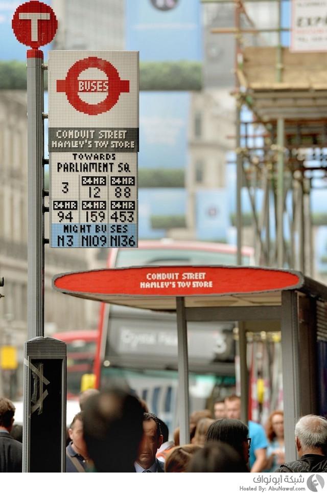 محطة حافلات من الليجو 1