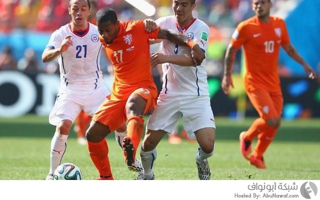 هولندا و تشيلي