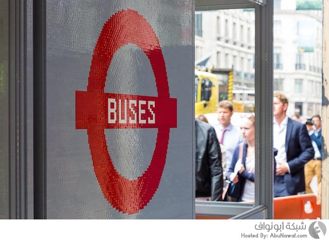 محطة حافلات من الليجو 3