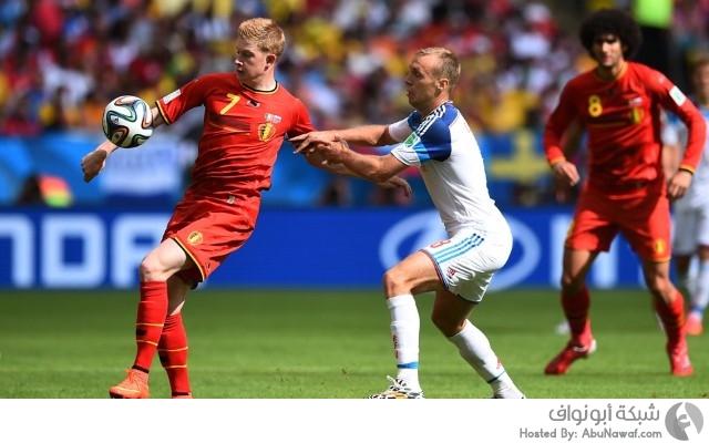 بلجيكا و روسيا
