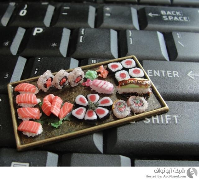 أطباق طعام مصغرة 3