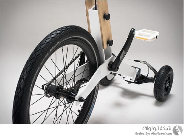 دراجة ثلاثية العجلات 4
