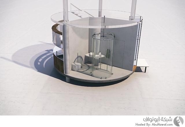منزل من الزجاج 2