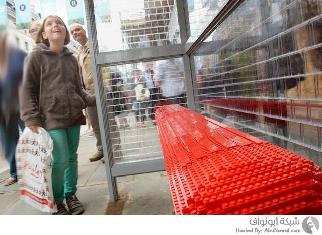 محطة حافلات من الليجو 6