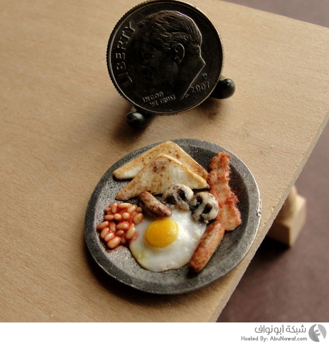 أطباق طعام مصغرة 6