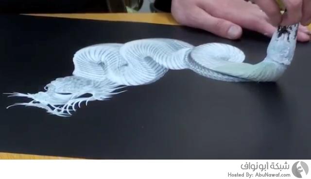 رسم تنانين بخطوة واحدة 8