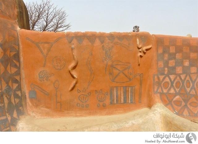 أعمال فنية على جدران قرية 7