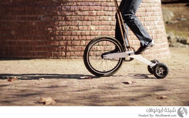 دراجة بدون مقعد