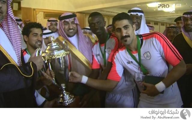 الشباب بطلاً لكأس السوبر السعودي