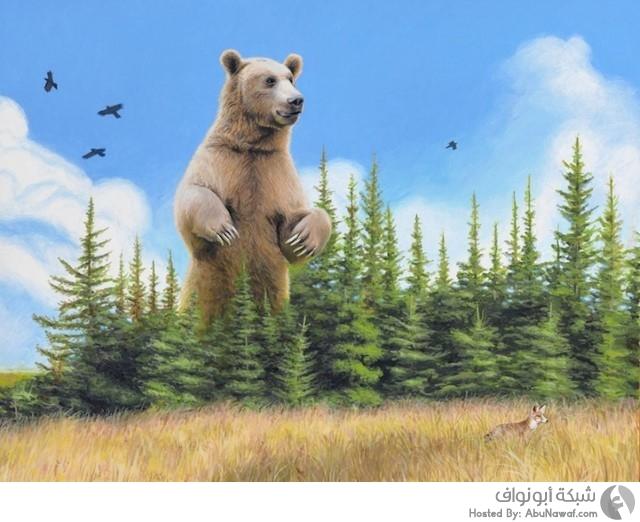 لوحات فنية للطبيعة