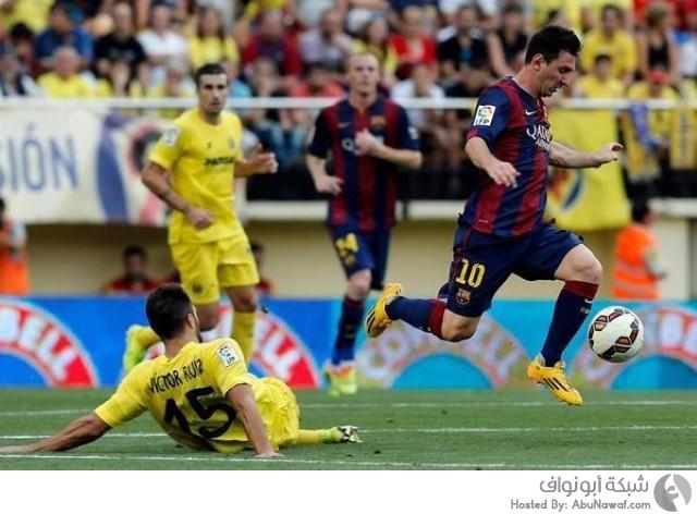 برشلونة و فياريال 3