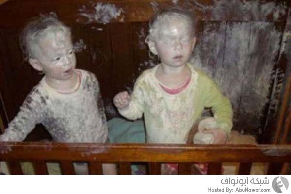 أطفال مشاكسين