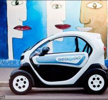 سيارة كهربائية صغيرة