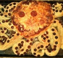 بيتزا الأخطبوط
