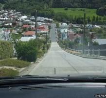 شارع في نيوزلندا