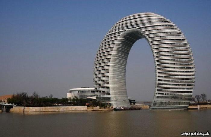 مباني غريبة