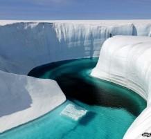 جمال الجليد