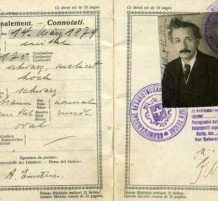جواز سفر لألبرت إينشتاين