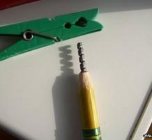 نحت قلم رصاص