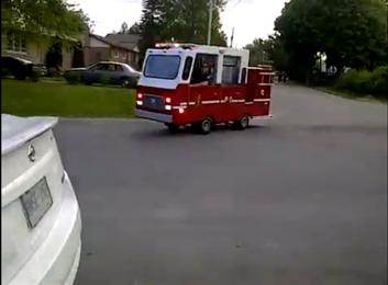 أصغر سيارة إطفاء