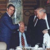 جورج بوش والصلعة