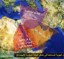 خريطة للعوامل الجوية