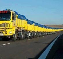 أطول شاحنة في العالم