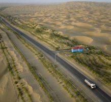 أطول طريق صحراوي