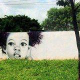 رسمة جدارية