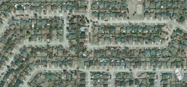 مدينة مور بعد الإعصار