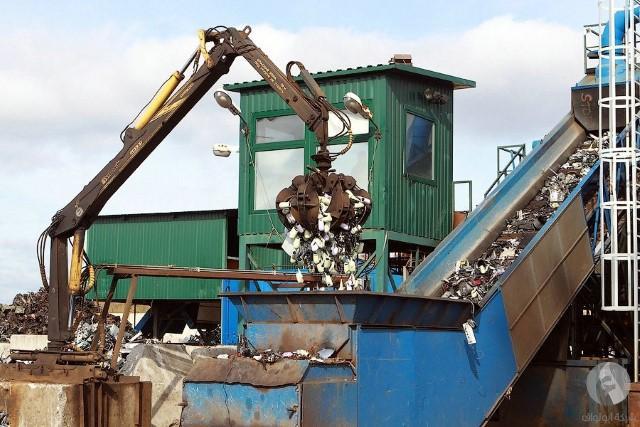 مصنع لإعادة التدوير