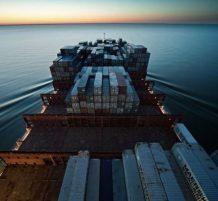 أكبر سفن نقل الحاويات