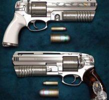 مسدس مثل المدفع