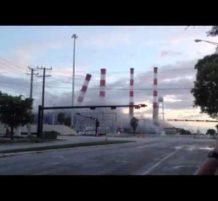 تفجير محطة كهرباء