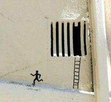 الرسم على الجدران