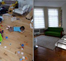 الشقة قبل وبعد