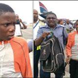 طفل إختبئ خلال رحلة جوية في مقصورة عجلات الطائرة
