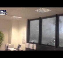 إعصار عنيف يضرب ميلانو