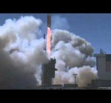 أكبر صاروخ يحمل قمراً للتجسس