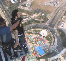 سعودي يقفز من برج مكاو بالصين