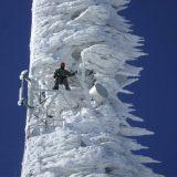 برج اتصالات متجمد