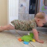 طفل عسكري