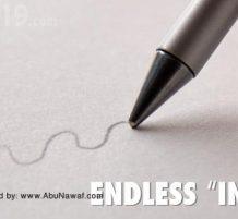 قلم يكتب إلى الأبد